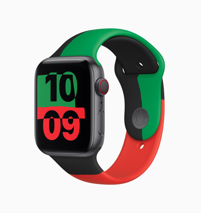 Apple celebrates BlackHistoryMonth apple watch series 6 012621