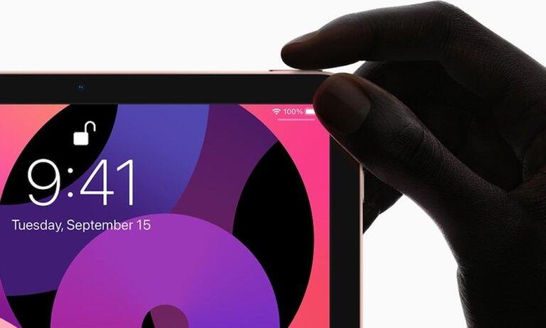 iPad Air Touch ID Sensor
