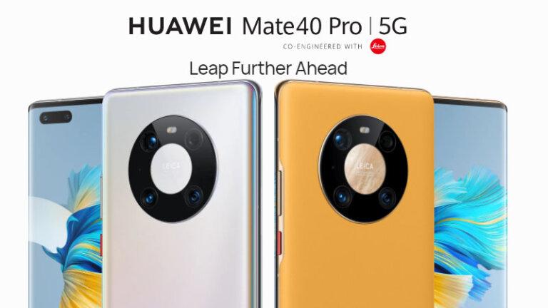 มือถือ 5g 2021 huawei mate 40 pro