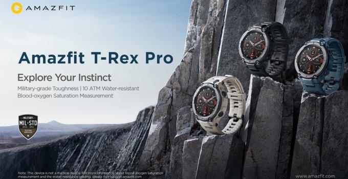 1.Amazfit T Rex Pro