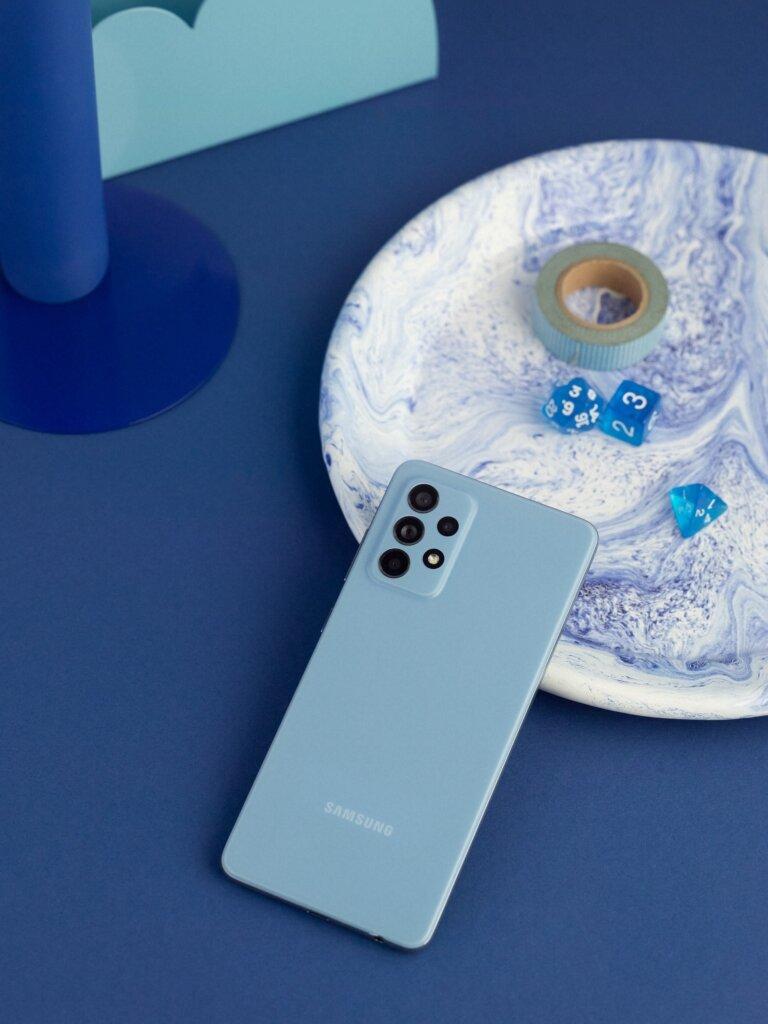 A52 blue. 1