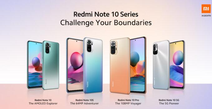เปิดตัว Redmi Note 10 Series ใหม่ล่าสุด พร้อมฟีเจอร์เหนือชั้น ในราคาที่เป็นมิตร