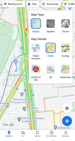 google maps คือ map type