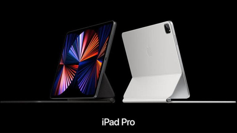 เปรียบเทียบ ipad pro 2021 กับ ipad pro 2020 ipad air ดีไซน์