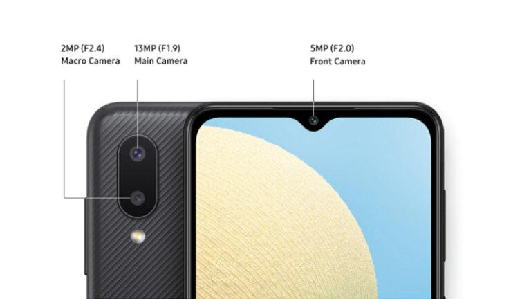 โทรศัพท์ราคาไม่เกิน 5000 ปี 2021 samsung m02 camera