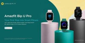 1.Amazfit Bip U Series Bip U Pro