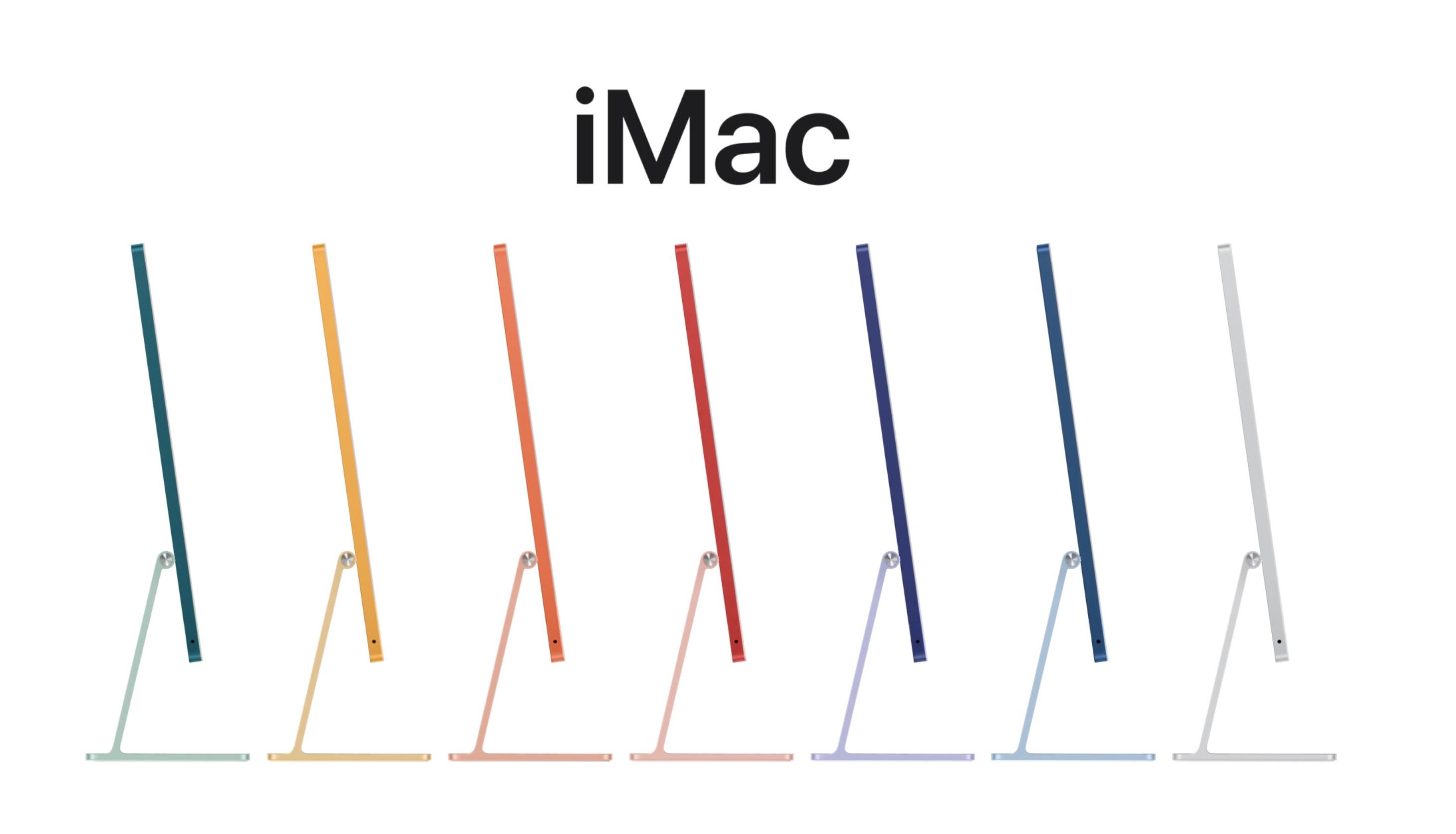 เปิดตัว iMac 24 นิ้ว ดีไซน์ใหม่ สีเยอะ, ชิป M1 และจอภาพ Retina 4.5K ราคาเริ่มต้น 42,900 บาท