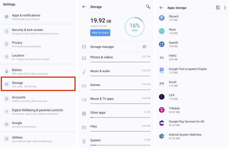 How to Check the Storage on Your Android Device