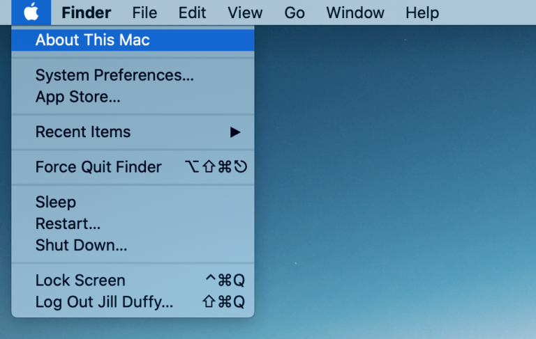 How to Check the Storage on Your Mac 01