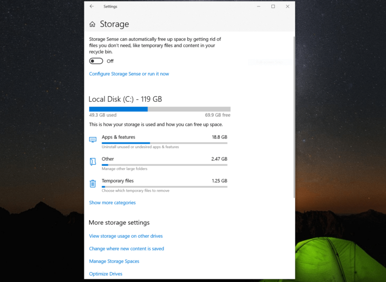 How to Check the Storage on Your Windows PC