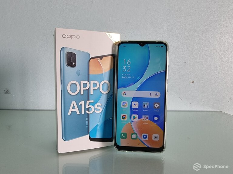 Review OPPO A15s 1