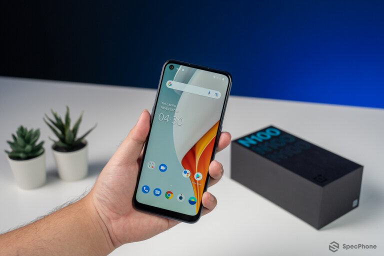 Review OnePlus Nord N100 34