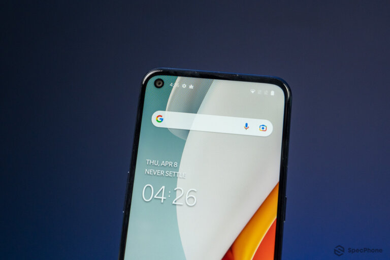 Review OnePlus Nord N100 45