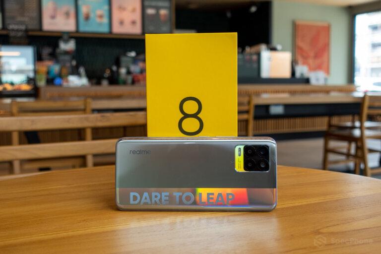 Unbox realme 8 SpecPhone 0001