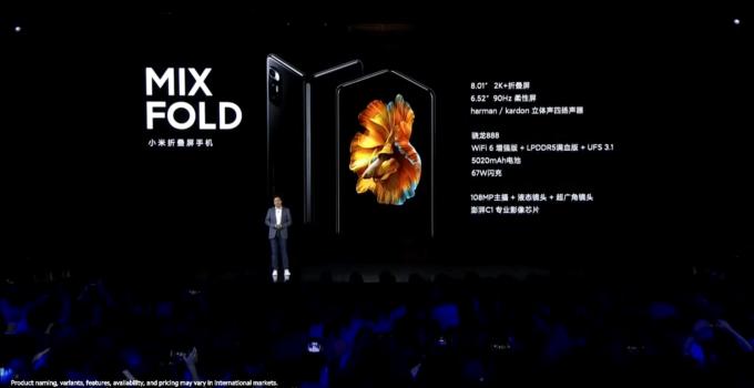 Mi Mix Fold อาจมีเวอร์ชันวางจำหน่ายทั่วโลกให้ได้ซื้อหากันด้วย