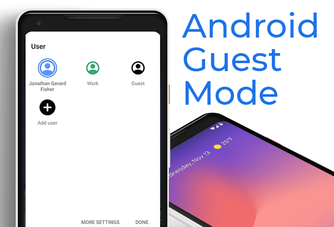 android guest mode