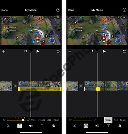 ตัดต่อวีดีโอ iPhone ฟรีแอพ imovie 6