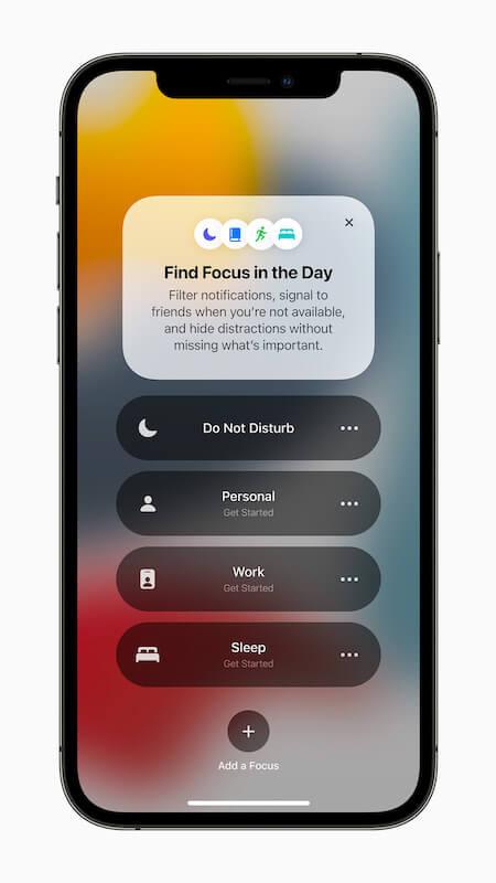 Apple iPhone12Pro iOS15 Focus 060721