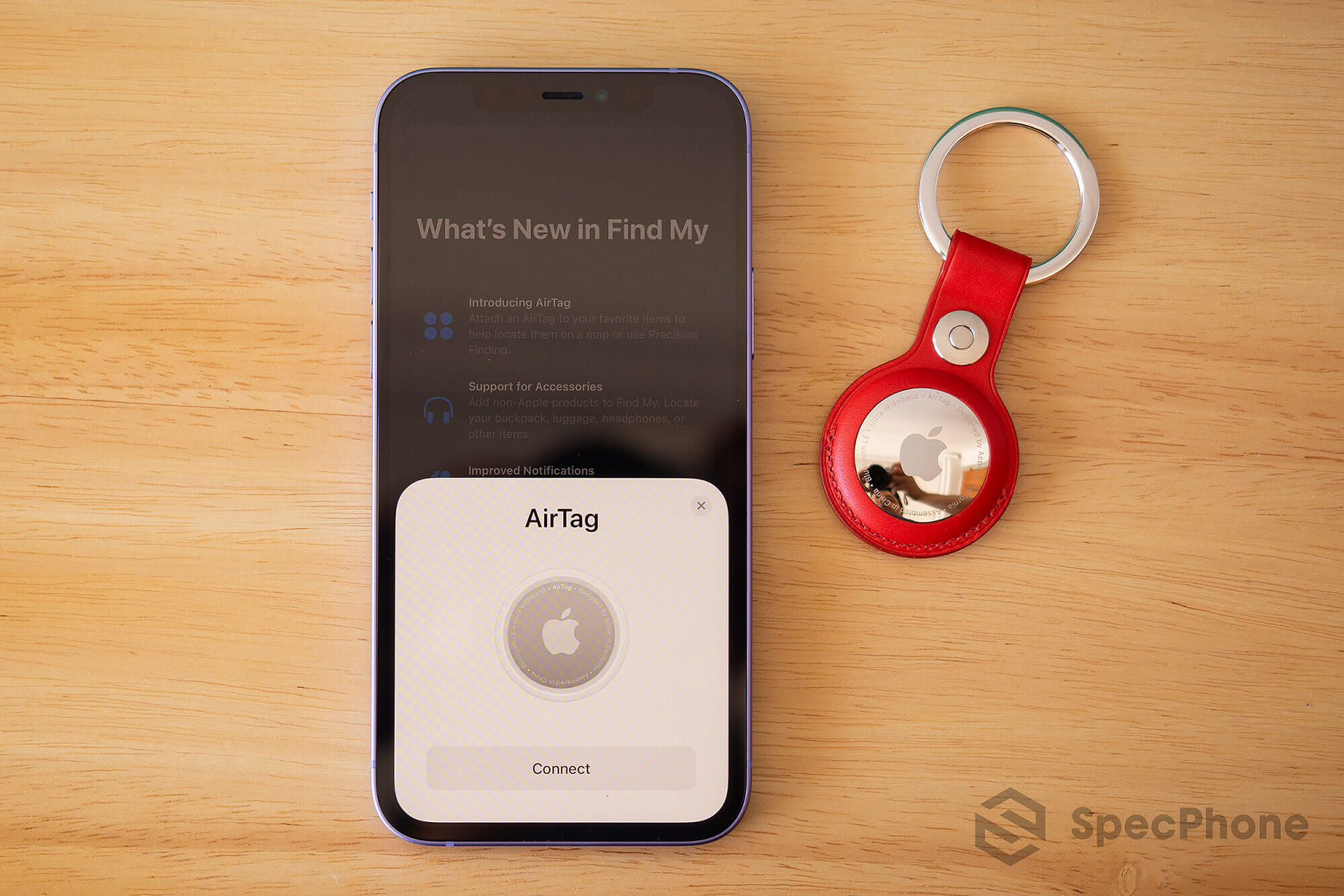 Review AirTag Apple SpecPhone 20
