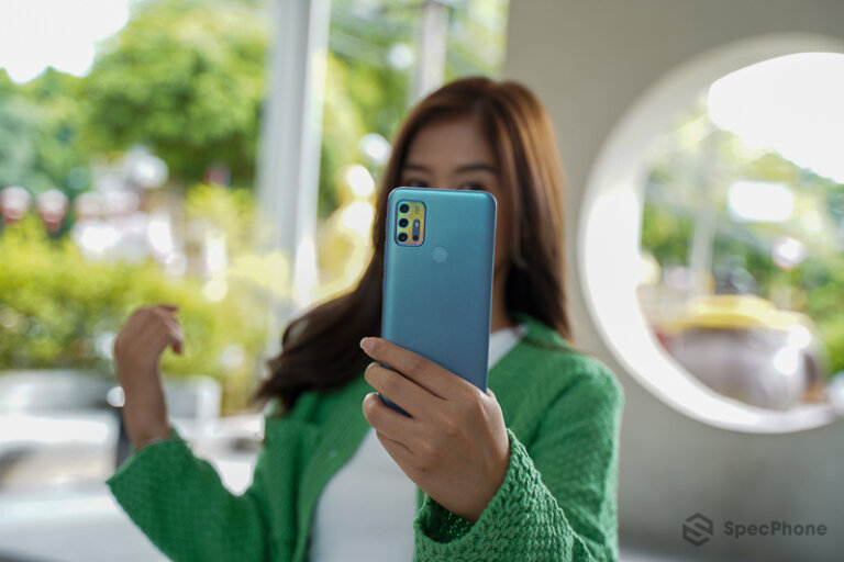 Review Moto G20 15