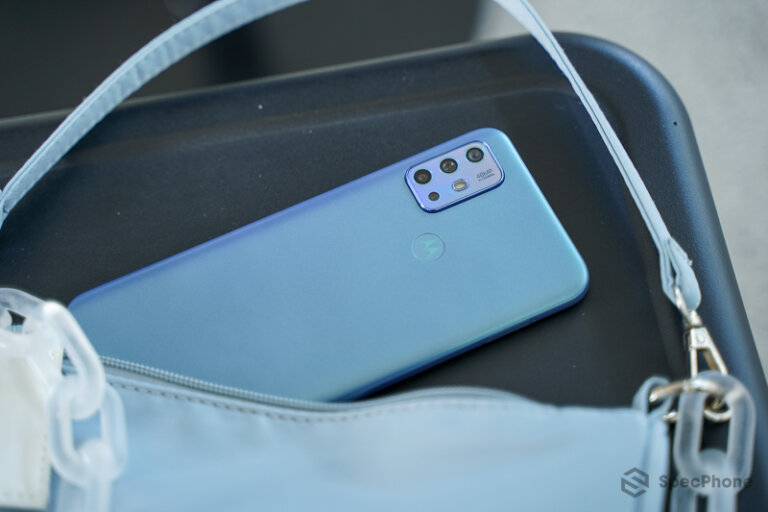 Review Moto G20 57