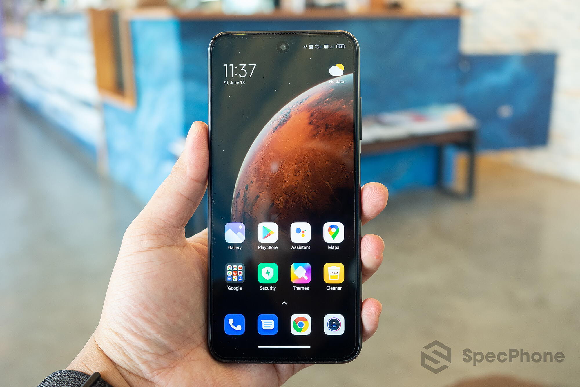 Review Redmi Note 10 5G SpecPhone 07