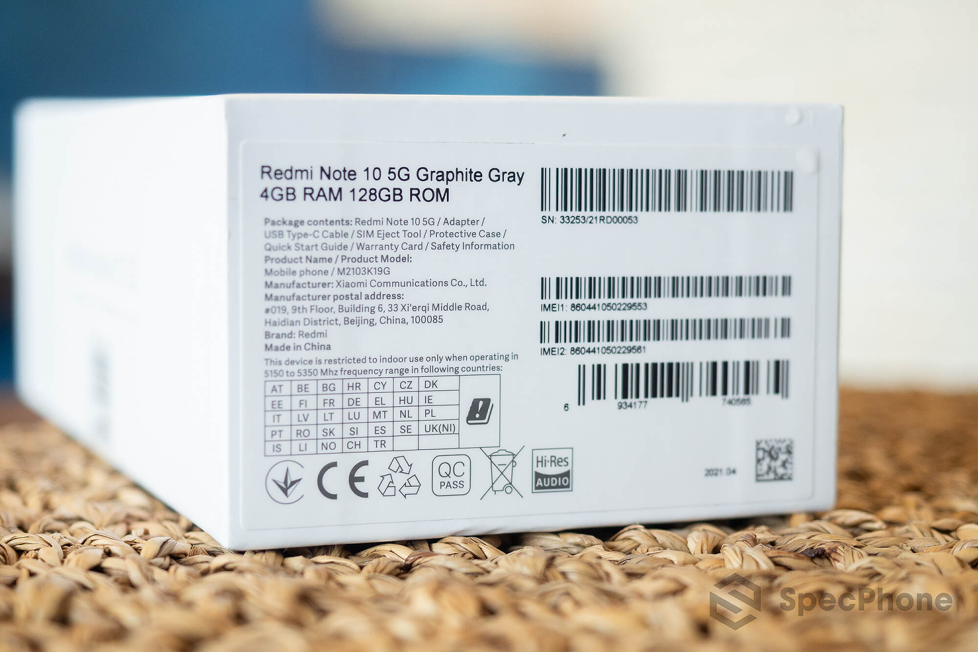 Review Redmi Note 10 5G SpecPhone 29
