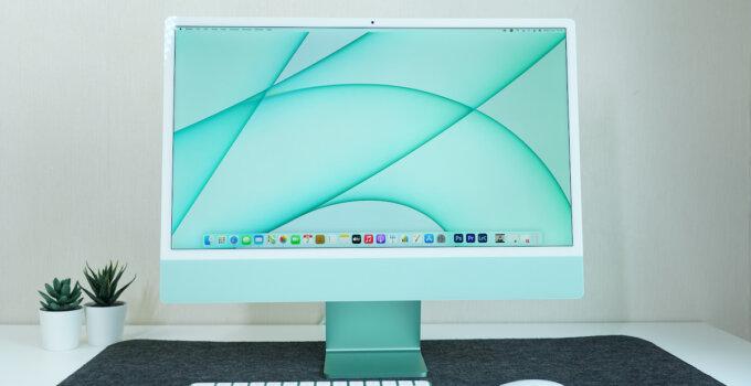 รีวิว iMac M1 รุ่น 24″ ดีไซน์ใหม่หมด พร้อมตัวเลือกถึง 7 สี แรงด้วยชิป M1 ในราคาเริ่มต้น 42,900 บาท