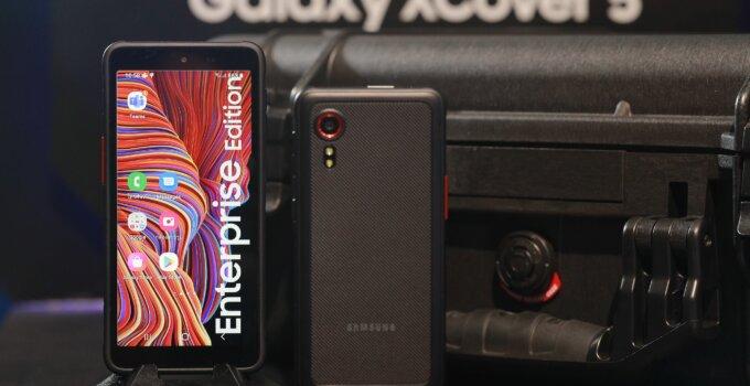 ซัมซุงส่ง Galaxy XCover 5 ผลิตภัณฑ์ Rugged Device ตอบโจทย์ทุกรูปแบบธุรกิจในยุคดิจิทัล