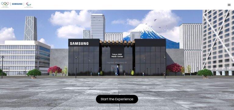 Samsung Galaxy Tokyo 2020 Media Center 1. 1
