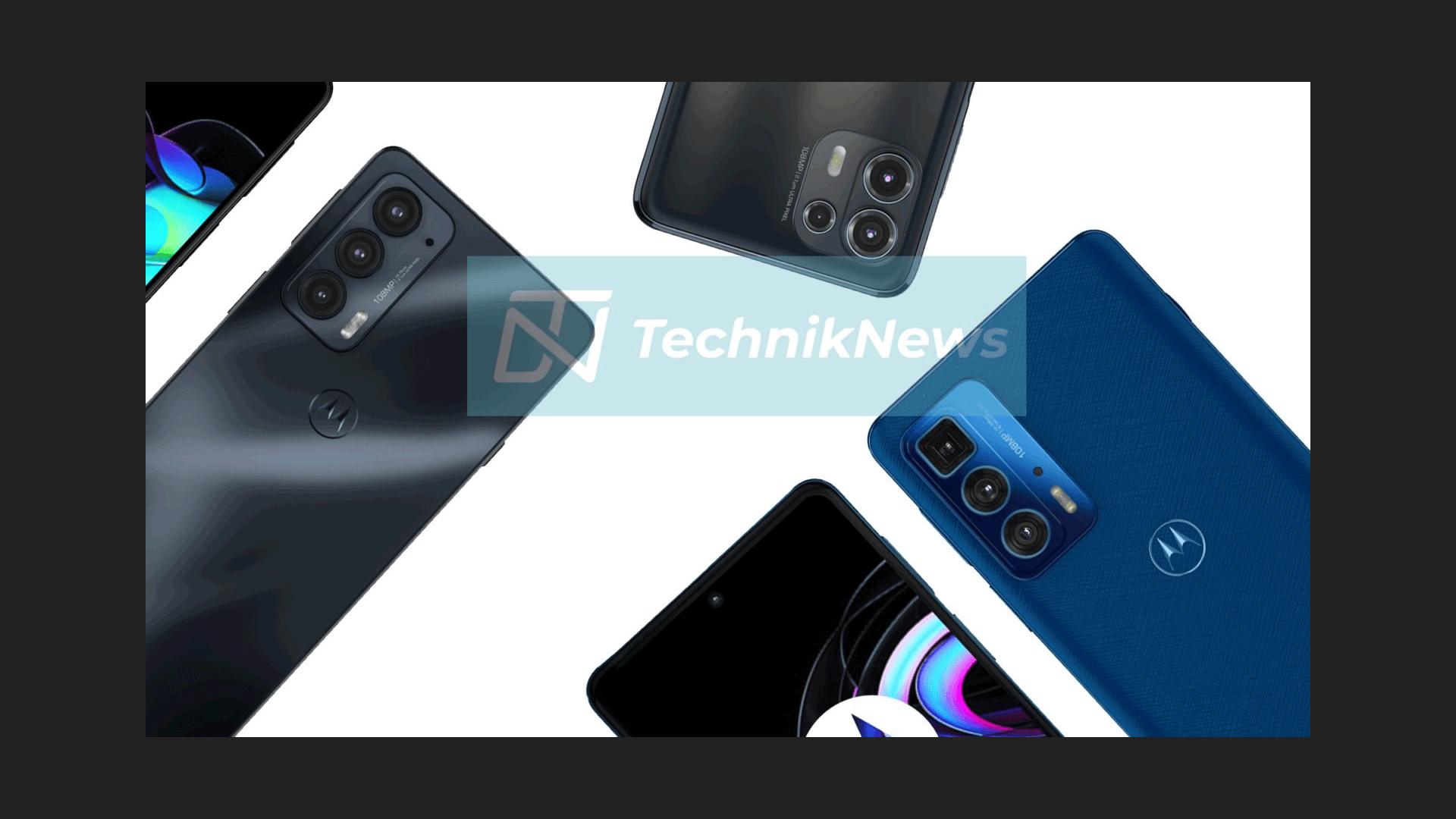 Motorola Edge 20 series กับภาพหลุดแรนเดอร์ดีไซน์จัดเต็ม