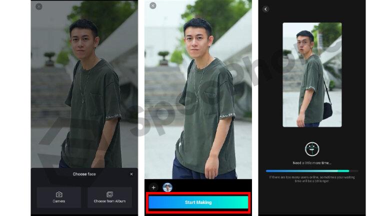แอพเปลี่ยนหน้าคนเกาหลีจีน แอพสลับหน้า faceplay 2.1