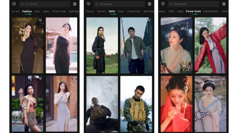 แอพเปลี่ยนหน้าคนเกาหลีจีน แอพสลับหน้า faceplay 4