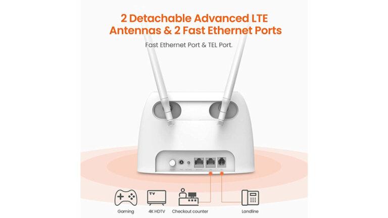 router ใส่ซิม ยี่ห้อไหนดี 2021 ais true dtac tenda g06