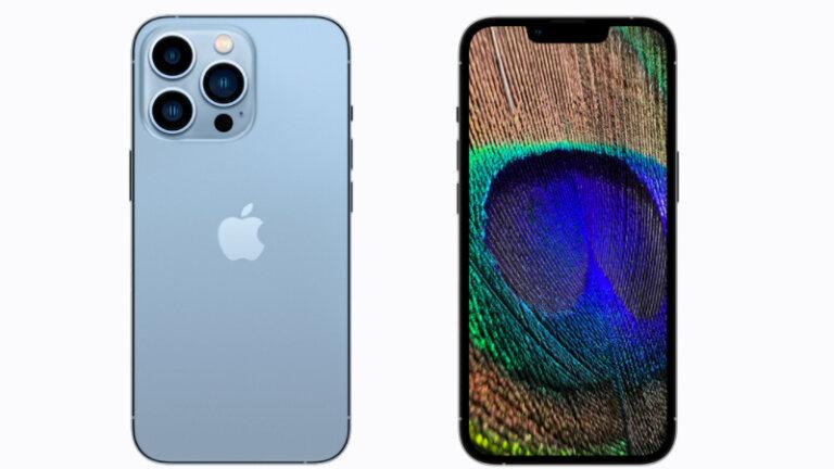 เปรียบเทียบสเปค iPhone 13 Pro vs iPhone 12 รุ่นไหนดี ดีไซน์ iPhone 13 pro