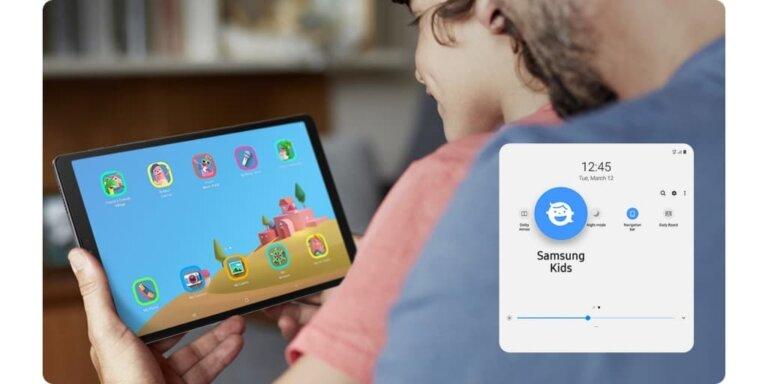 Galaxy Tab A7 Lite LTE 10 Samsung Kids PC 1