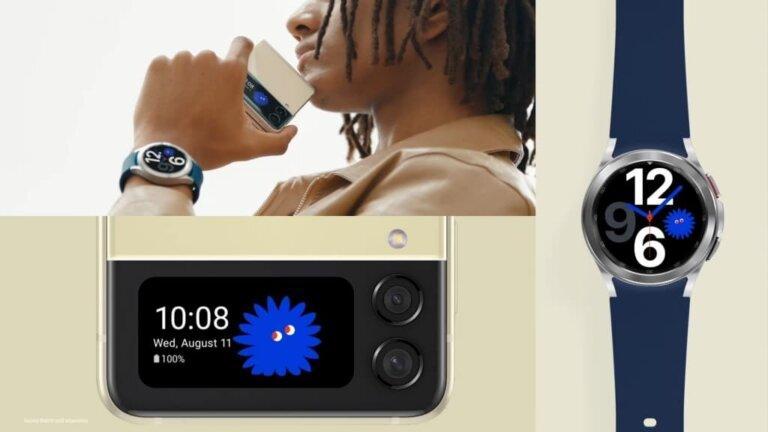 Galaxy Z Flip3 5G Buds2 Watch4
