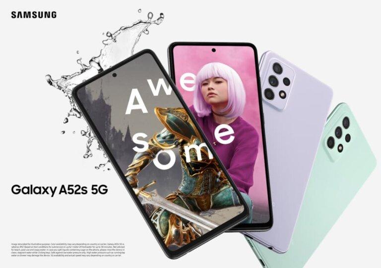 Galaxy A52s 5G Family KV