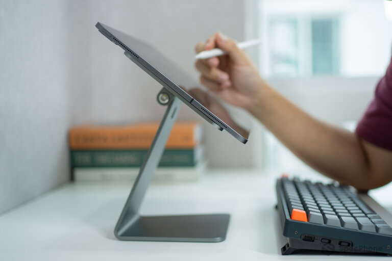 Review Lululook Magnetic iPad Stand SpecPhone 00011