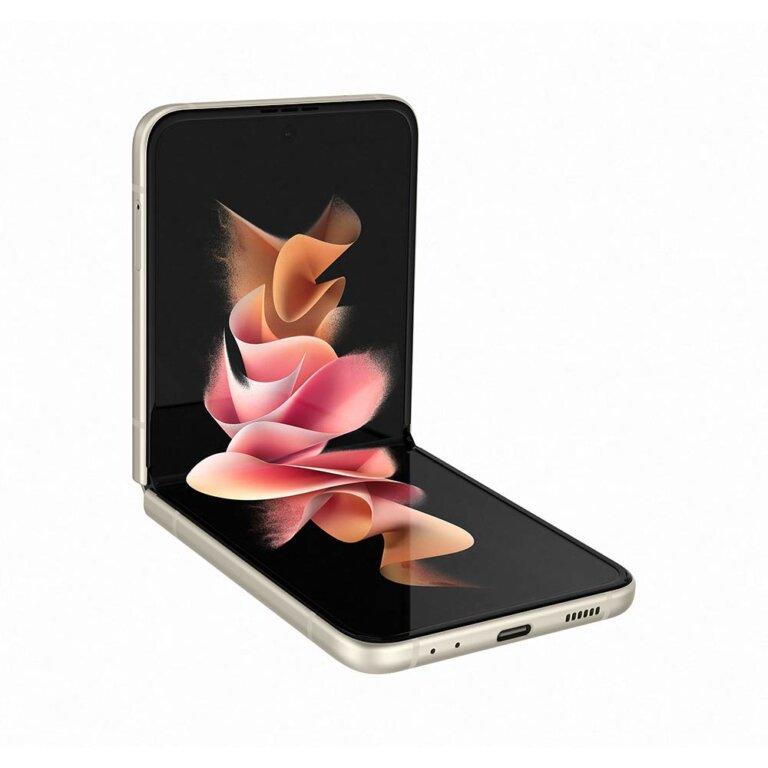 Samsung Smartphone Galaxy Z Flip 3 8 128 Cream 5G 09