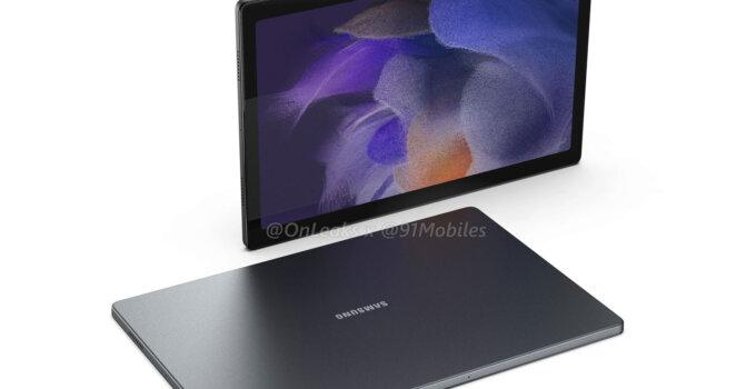 Samsung Galaxy Tab A8 2021 หลุดภาพตัวเครื่องกับดีไซน์เรียบๆ