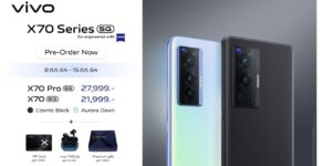 1. X70 Series Pre order vivo Promotion