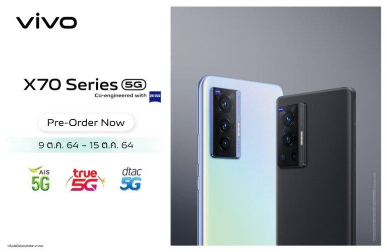 3. X70 Series Pre order operators 1