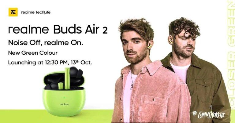 Realme Buds Air 2 Green