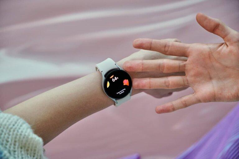 galaxy watch4 silver 2. 1